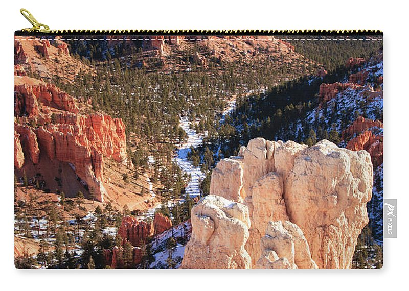 Tranquility Carry-all Pouch featuring the photograph Inspirational by Daniel Cummins