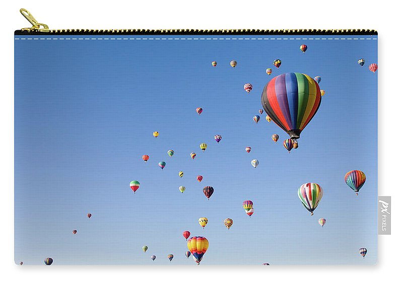 Event Carry-all Pouch featuring the photograph International Balloon Fiesta by Prmoeller