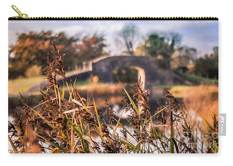 Grand Canal Carry-all Pouch featuring the photograph Irish Country Side by Jeremy Simpson