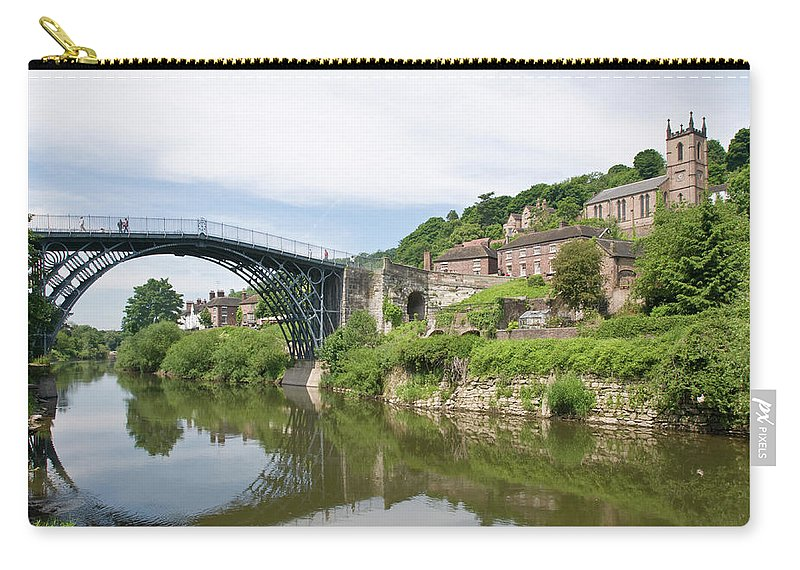 Arch Carry-all Pouch featuring the photograph Ironbridge In Telford by Dageldog