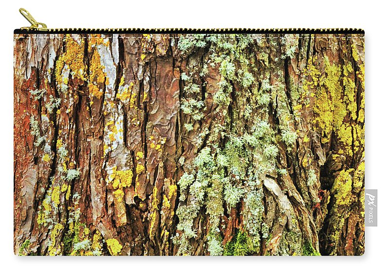 Tree Carry-all Pouch featuring the photograph Island Moss by JAMART Photography