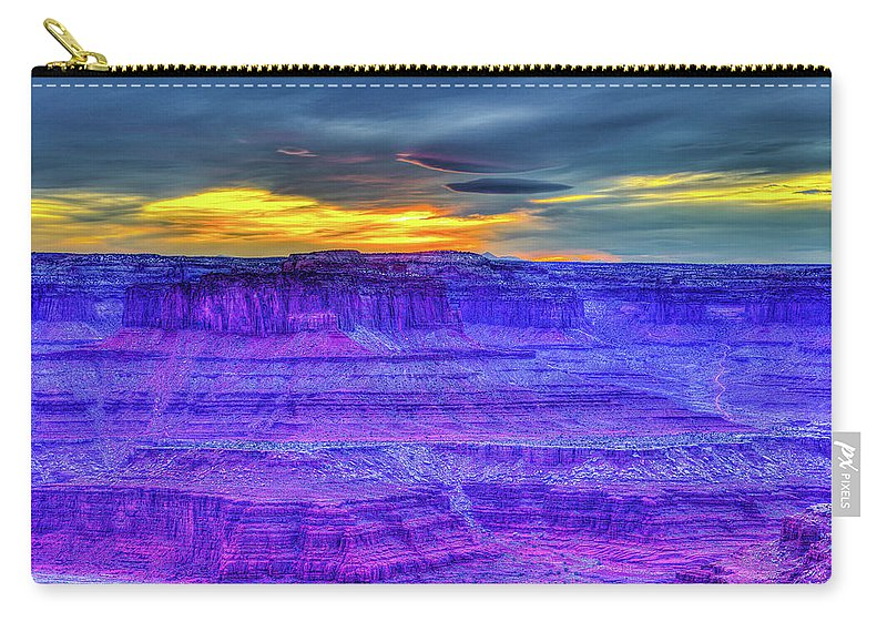 Utah Carry-all Pouch featuring the photograph It's A Small World by Three 20 Arts