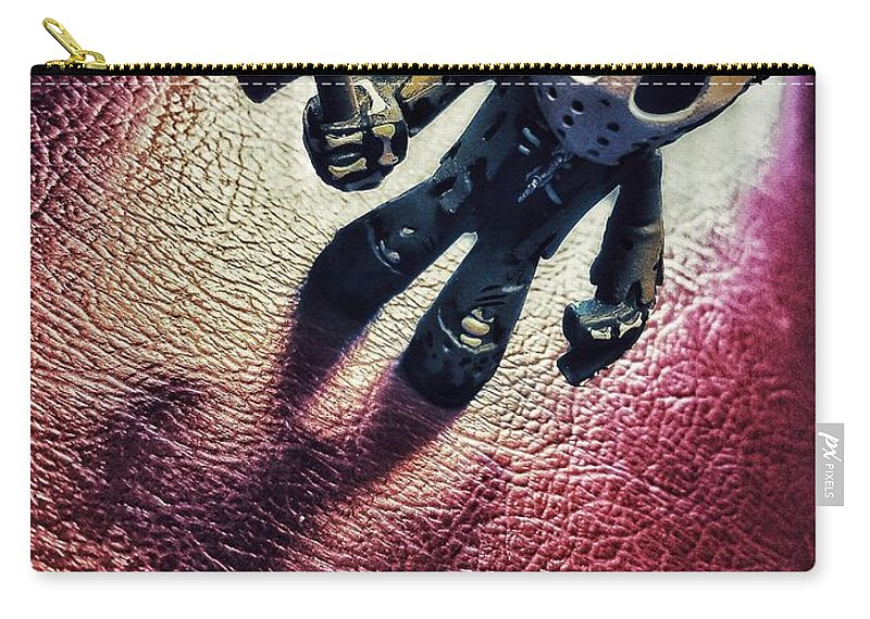 Jason Voorhees Carry-all Pouch featuring the photograph Jason Voorhees by SoxyGal Photography