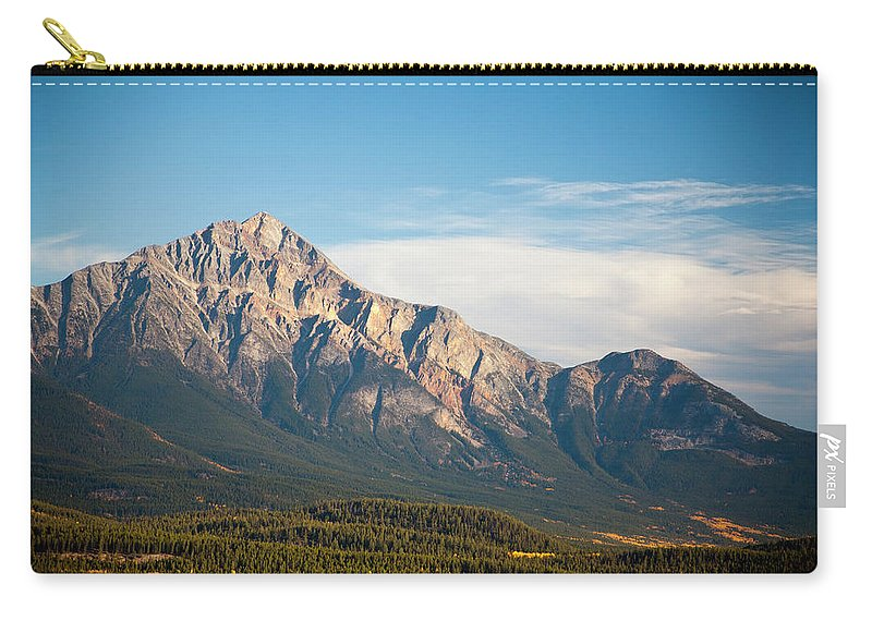 Scenics Carry-all Pouch featuring the photograph Jasper Valley by Abishome