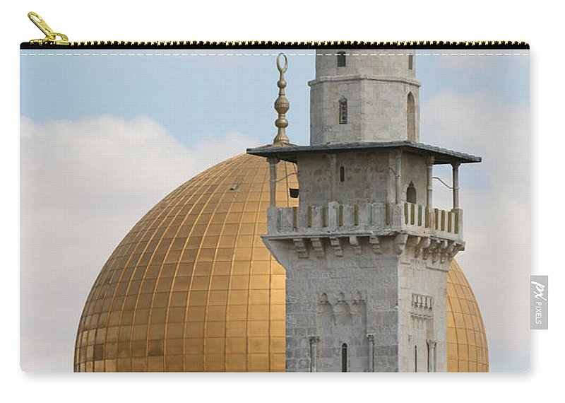 Arch Carry-all Pouch featuring the photograph Jerusalem by Yelena Strokin