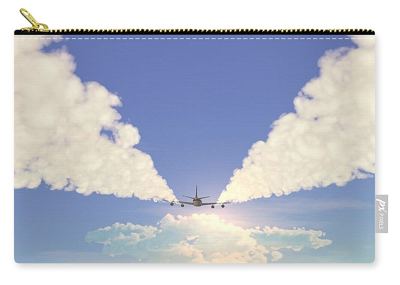 Engine Carry-all Pouch featuring the photograph Jet by Pobytov