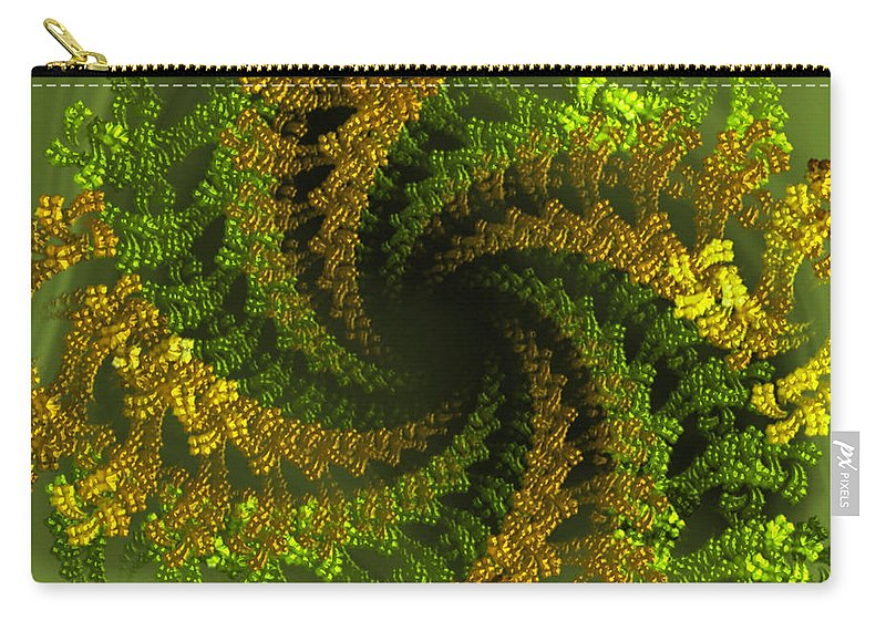 Jeweling Carry-all Pouch featuring the digital art Jeweling by Giada Rossi