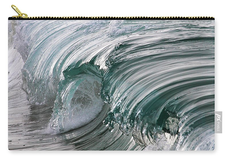 Scenics Carry-all Pouch featuring the photograph Jibbon Wave by Ewen Charlton