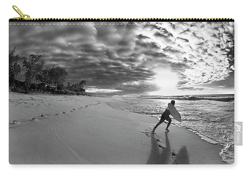Joy Carry-all Pouch featuring the photograph Joyful Embrace by Sean Davey