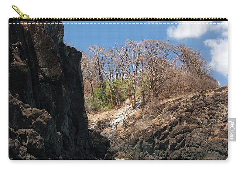 Tranquility Carry-all Pouch featuring the photograph Jumping by Mauricio M Favero