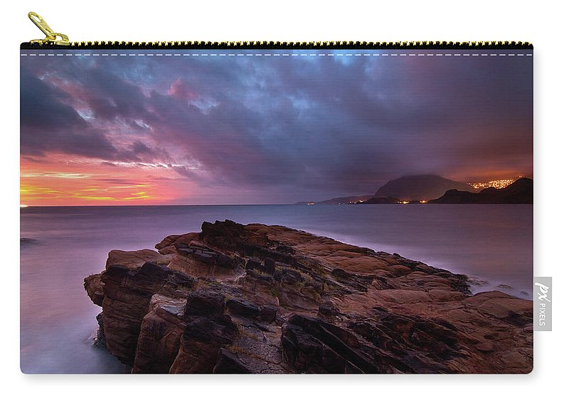 Scenics Carry-all Pouch featuring the photograph Keelung, Taiwan by Chia-hsing Wu