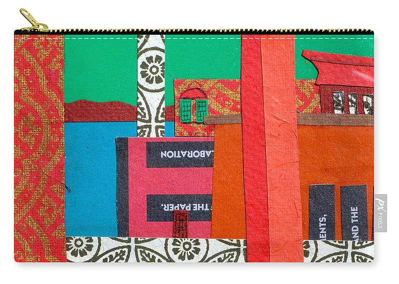Burlington Carry-all Pouch featuring the mixed media Lake Champlain by Debra Bretton Robinson