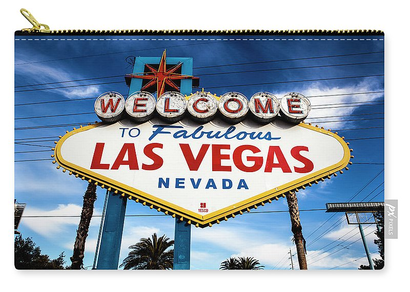 Outdoors Carry-all Pouch featuring the photograph Las Vegas by Aluma Images