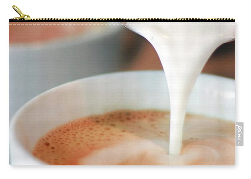 Breakfast Carry-all Pouch featuring the photograph Latte by Sf foodphoto