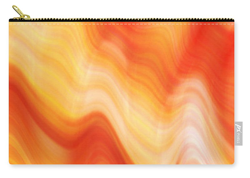 Abstract Carry-all Pouch featuring the digital art Lava by Cintia Naile
