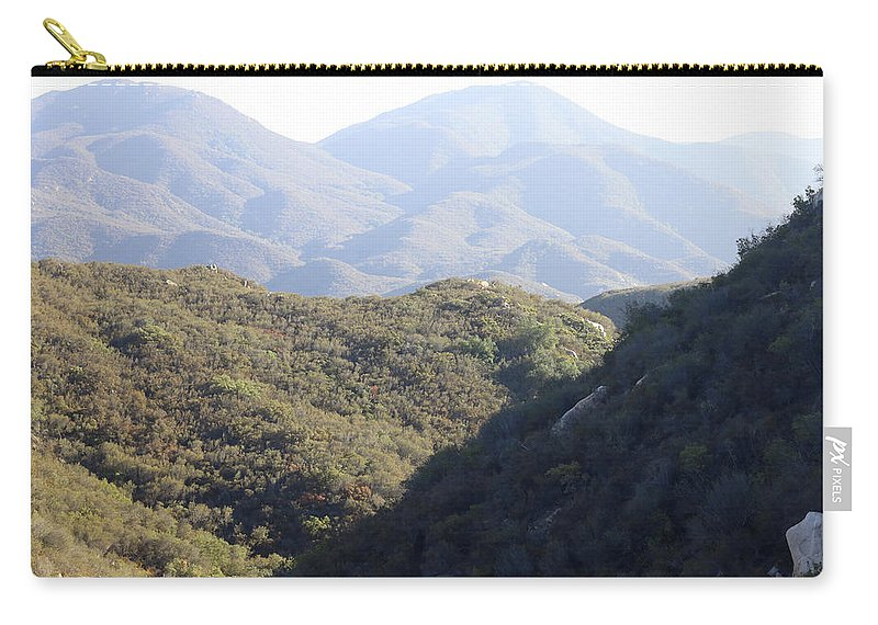 Carry-all Pouch featuring the photograph Layers Of A Mt. View by C Frank