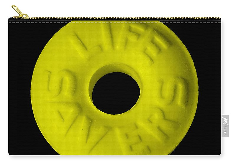 Life Saver Carry-all Pouch featuring the photograph Life Savers Banana by Rob Hans