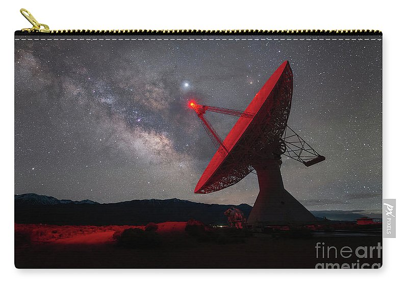 Caltech Carry-all Pouch featuring the photograph Listening For Life by Michael Ver Sprill