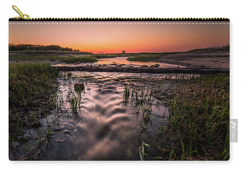 Carry-all Pouch featuring the photograph Little Island Creek by Kevin Friel