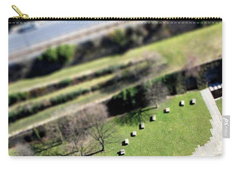 England Carry-all Pouch featuring the photograph Liverpool From Above, Tilt-shift Lens by Ilbusca