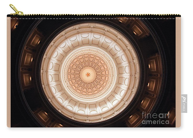 Star Carry-all Pouch featuring the photograph Lone Star State by Jim Domke