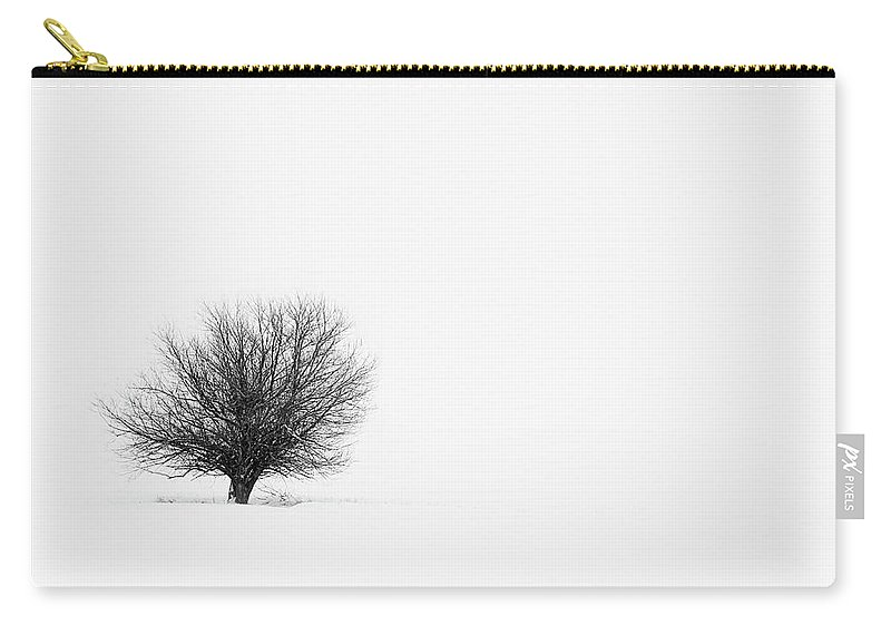 Tranquility Carry-all Pouch featuring the photograph Lone Tree by Jrj-photo