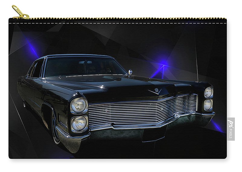 Car Carry-all Pouch featuring the photograph Long Black by Keith Hawley