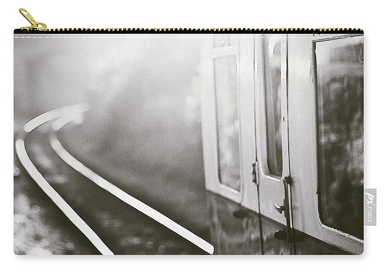 Train Carry-all Pouch featuring the photograph Long Train Running by James Homer