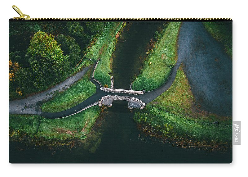 Grand Canal Carry-all Pouch featuring the photograph Looking Down At You by Jeremy Simpson