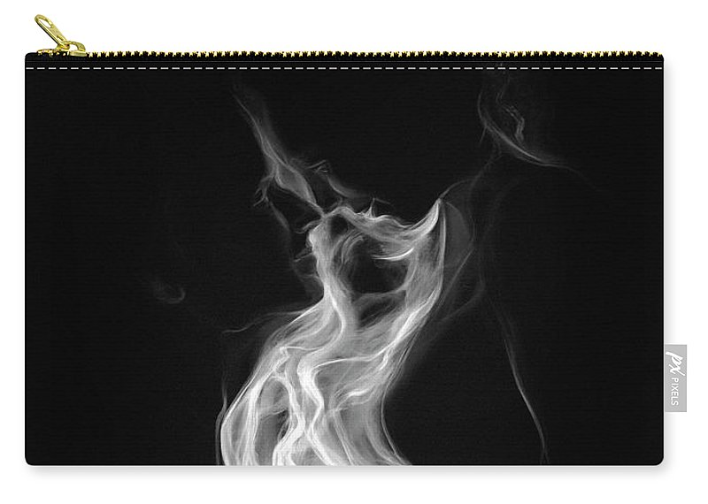 Smoke Carry-all Pouch featuring the painting Love by Mher Khachatryan