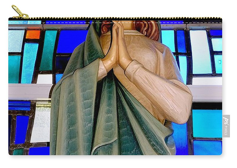 Mother Mary Carry-all Pouch featuring the photograph Lovely Mary by Ed Weidman