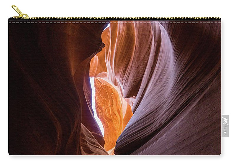 Usa Carry-all Pouch featuring the photograph Lower Antelope Canyon by Mario Wand