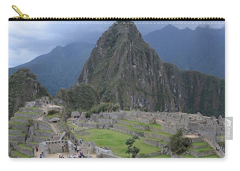 Machu Picchu Carry-all Pouch featuring the photograph Machu Picchu by Justin Young