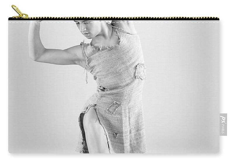 Ballet Dancer Carry-all Pouch featuring the photograph Man Dance by Oleg66