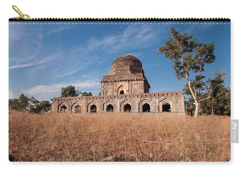 Built Structure Carry-all Pouch featuring the photograph Mandu, Mandav by Saurabh