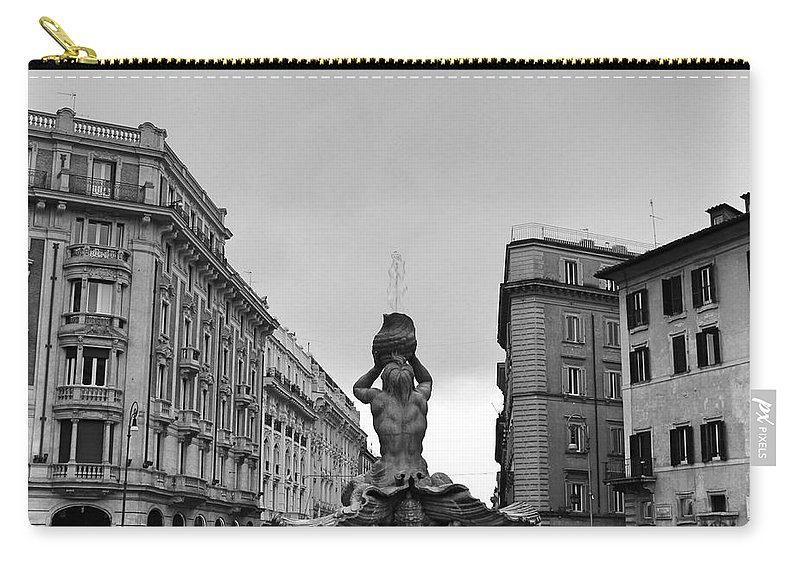 Rome Carry-all Pouch featuring the photograph Merman by Mary North