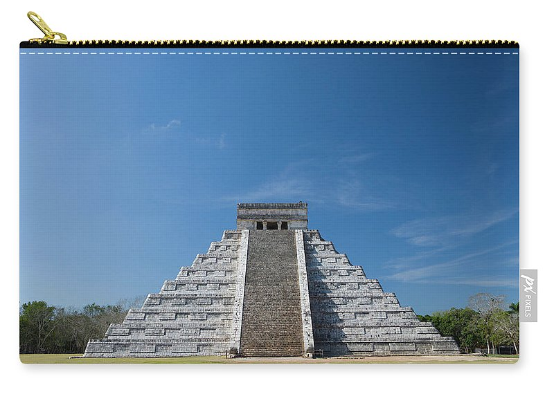 Latin America Carry-all Pouch featuring the photograph Mexico, Yucatan Peninsula, Yucatan by Adam Crowley