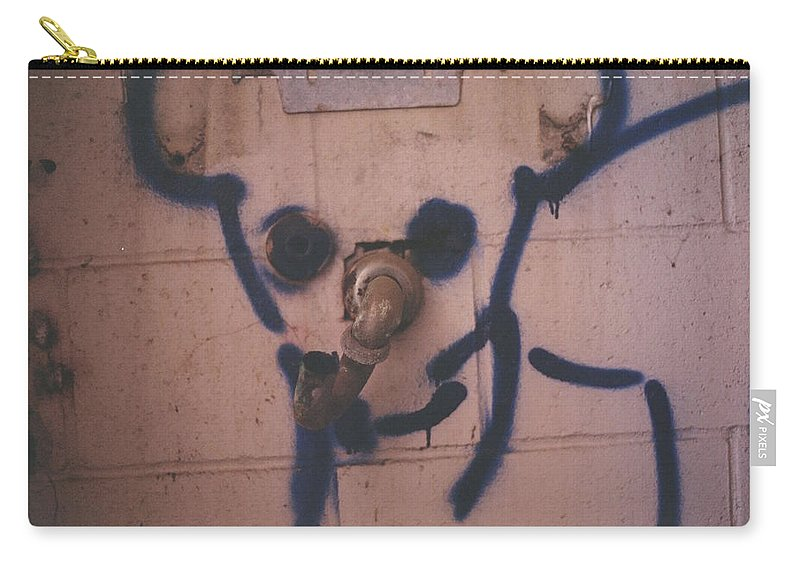 Landscape Carry-all Pouch featuring the photograph Mickey by Jamie Alicia Ary