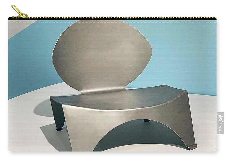 Mid Mod Carry-all Pouch featuring the photograph Mid Mod Chair by Marilyn Hunt