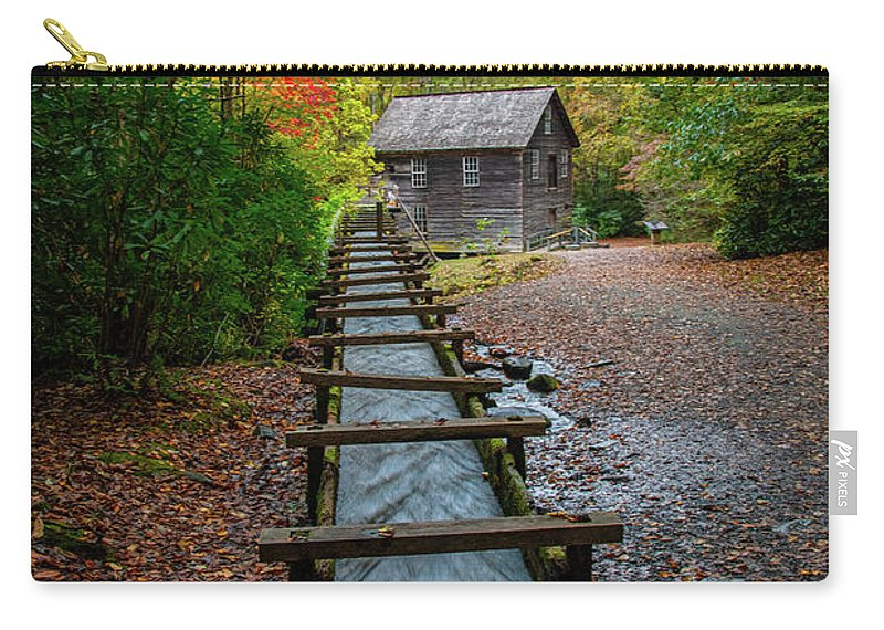 Mingus Mill Carry-all Pouch featuring the photograph Mingus Mill by Robert J Wagner