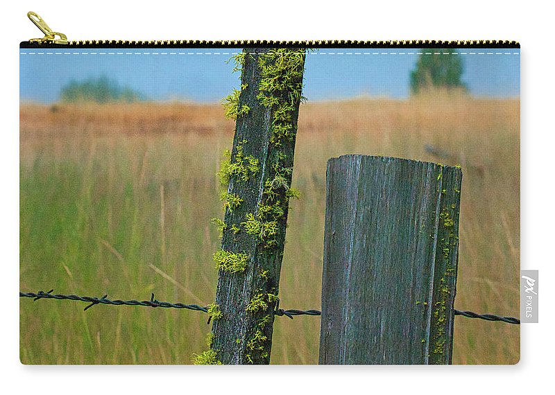Scott Mcdaniel Carry-all Pouch featuring the photograph Misty Morning Moss by Scotty Baby