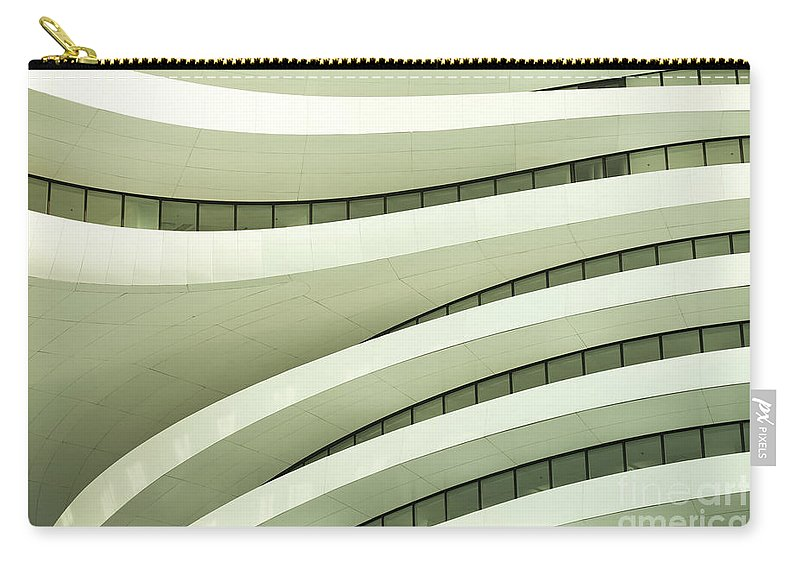 Arch Carry-all Pouch featuring the photograph Modern Architecture by Phototalk