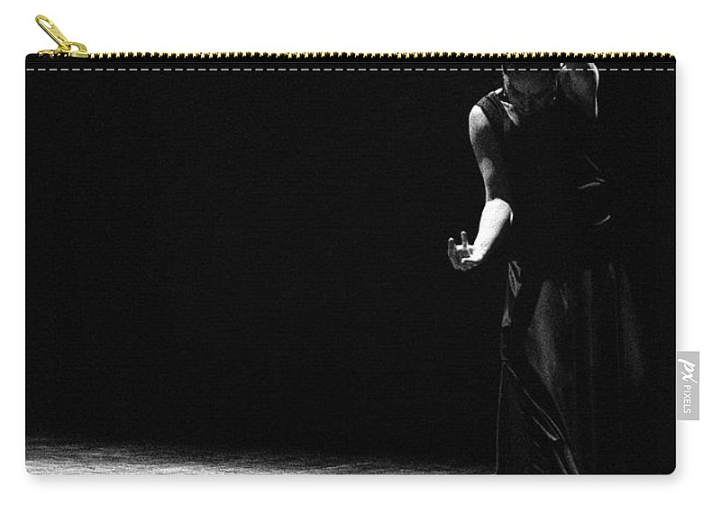 Ballet Dancer Carry-all Pouch featuring the photograph Modern Flamenco by T-immagini