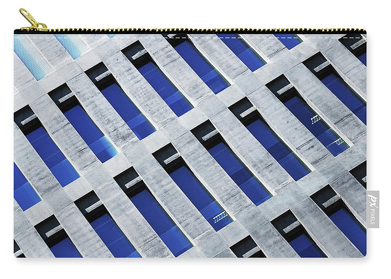 Corporate Business Carry-all Pouch featuring the photograph Modern Offices Building by Joelle Icard
