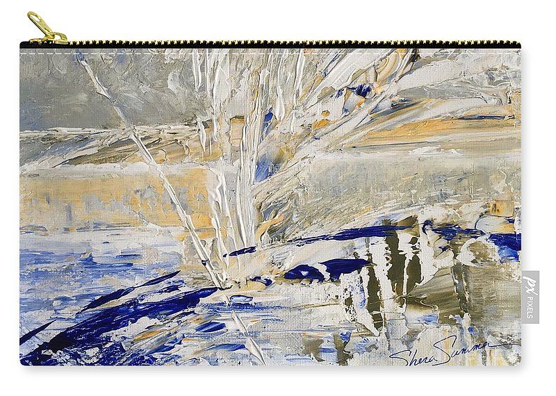 Original Artwork Carry-all Pouch featuring the painting Morning Light by Shera Summer