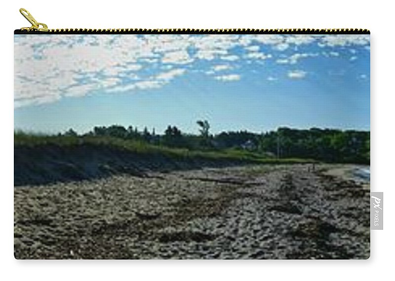 Uther Carry-all Pouch featuring the photograph Morning Stroll by Uther Pendraggin