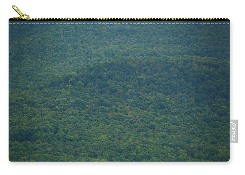 Mount Greylock Reservation's Trees Carry-all Pouch featuring the photograph Mount Greylock Reservation's Trees by Raymond Salani III