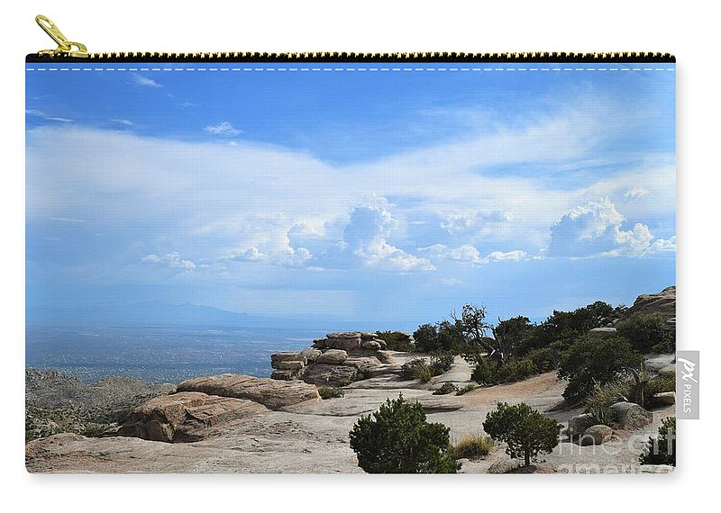 Mount Lemmon Carry-all Pouch featuring the photograph Mount Lemmon by Suzanne Wilkinson