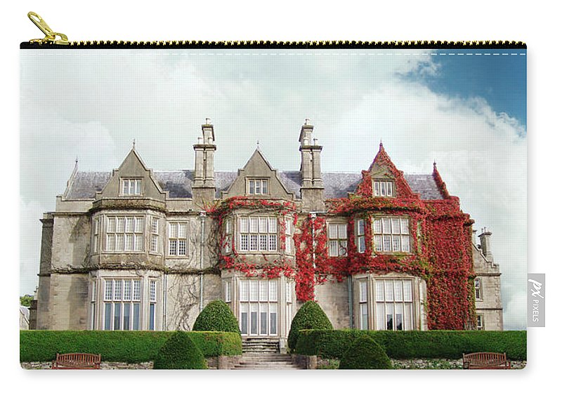 Grass Carry-all Pouch featuring the photograph Muckross House by Narvikk