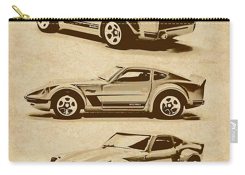 Nissan Carry-all Pouch featuring the photograph My Fairlady by Jorgo Photography - Wall Art Gallery